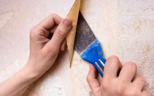 Подготовка стены к поклейке обоев