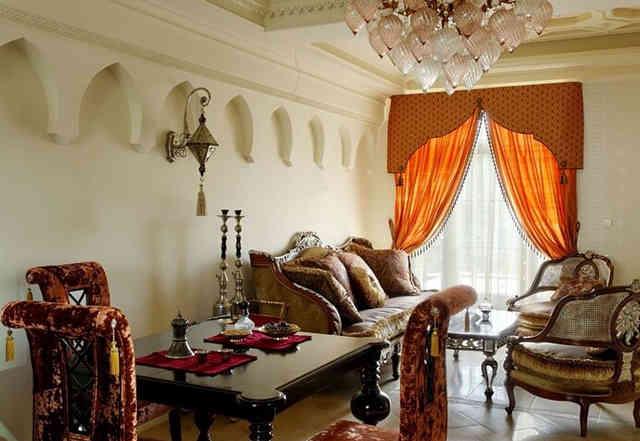 Арабский стиль в интерьере
