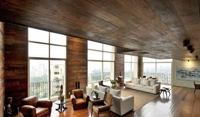 Деревянные потолки-особый колорит и эстетика
