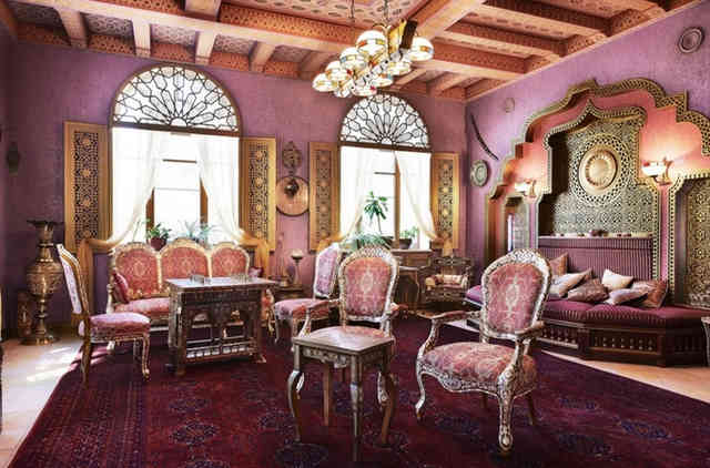 Османский стиль в интерьере