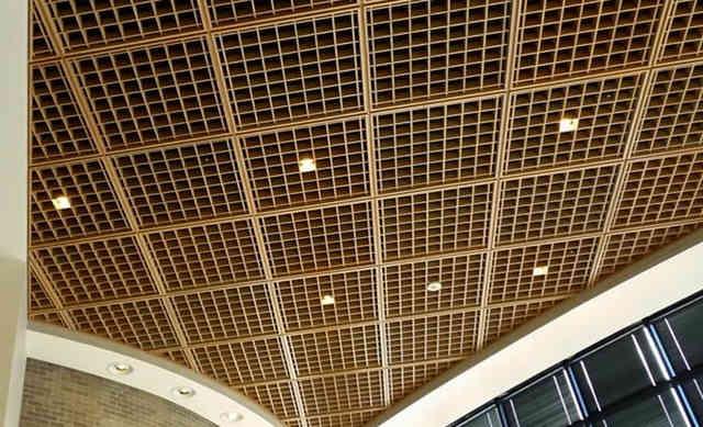 Подвесной потолок грильятто