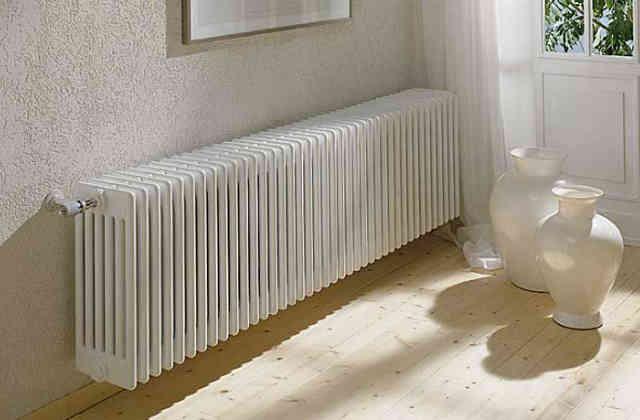 Современные радиаторы отопления в интерьере квартиры