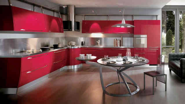 Стиль хай-тек на кухне