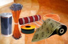 Теплый пол под плитку – какой лучше? Плюсы и минусы различных решений.