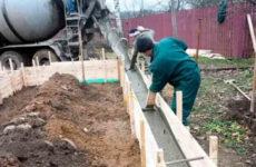 Как залить фундамент для частного дома