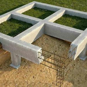 Столбчатый фундамент для дома – виды и их характеристики